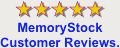 Memorystock customer reviews