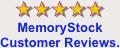 Memorystock customer reviews