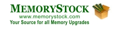 MemoryStock : RAM Upgrades for Dell Computer, Apple, Gateway, HP, IBM Computer RAM, DDR2 SDRAM, Printer, RAM Memory Upgrades